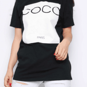 COCO Paris Print Oversized T-shirt